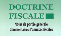 Doctrine fiscale